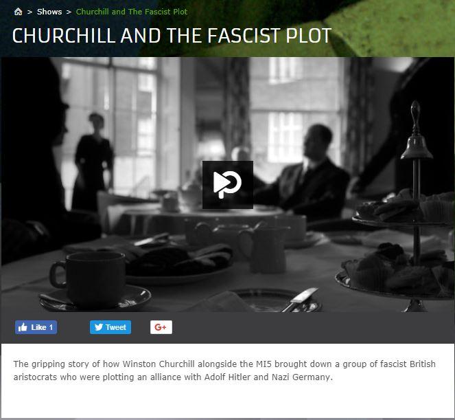 Churchill and the fascist plot