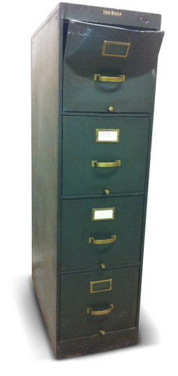 Maxwell Knight's filing cabinet