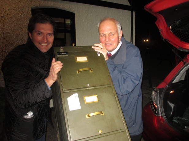 Maxwell Knight cabinet Simon H King and John Cooper 2