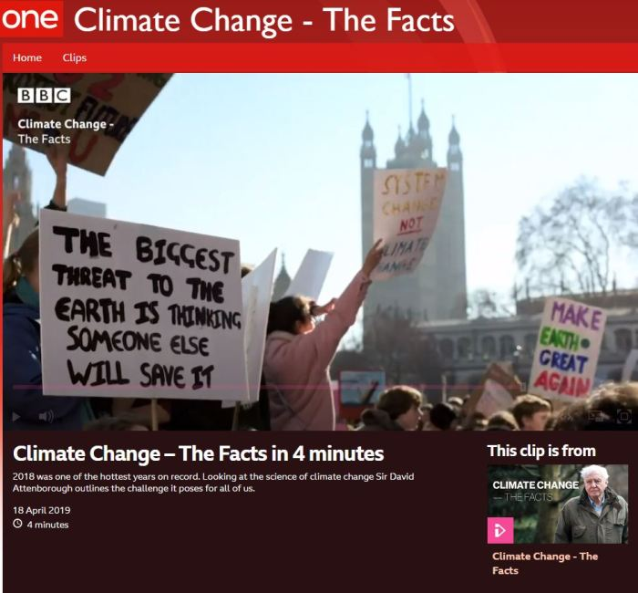 Climate change the facts in 4 minutes